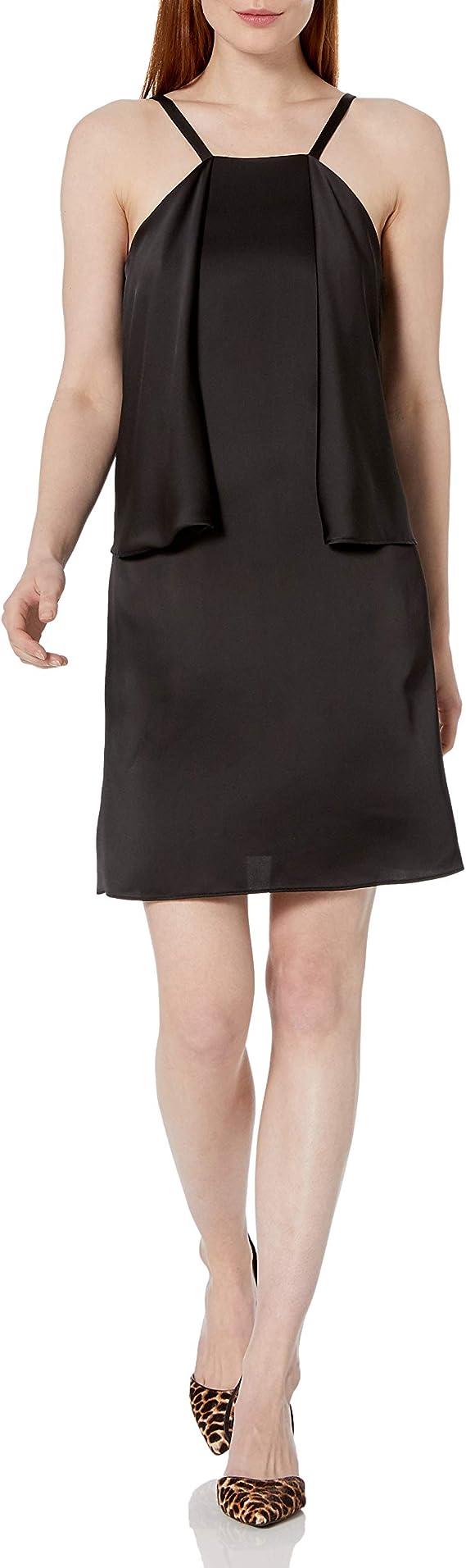 Embellished Pop-Over Dress Black Laundry by Shelli Segal