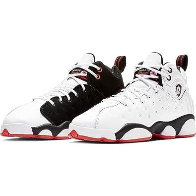 87e72a45345 Nike Jordan Jumpman Team II (GS) Boys Basketball-Shoes 820273-106 4.