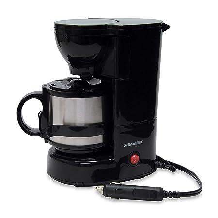 Roadpro – Cafetera eléctrica de 12 voltios con Boelter Brands ...