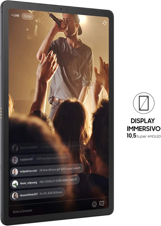 Samsung Galaxy Tab S5e LTE SM-T725 64GB negro italiano versión ...