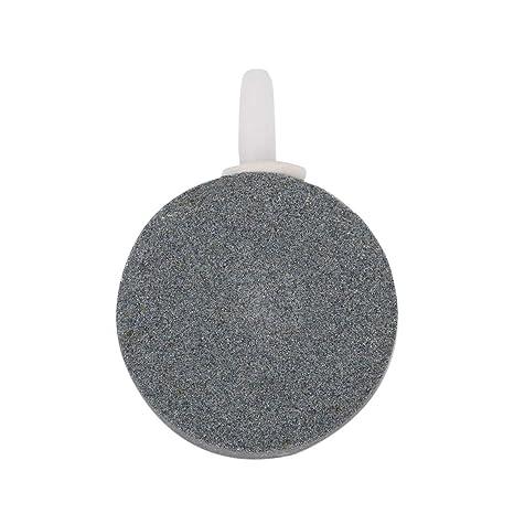 Pgige 40mm Bomba de Estanque HidropóNico Air Stone Bubble Disk Aireador Tanque de Peces de Acuario