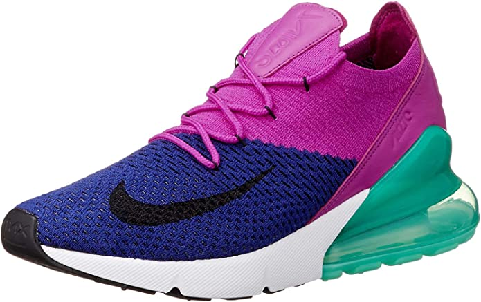 Dureza factible empresario  Amazon.com   Nike Men's Air Max 270 Flyknit Nylon Basketball Shoes   Road  Running