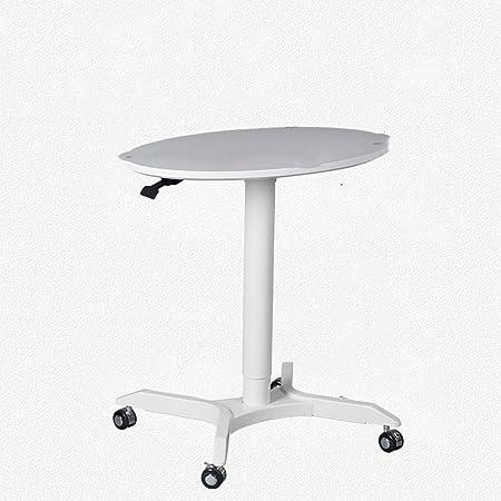 mesa plegable Ajustable Mesa de Levantamiento móvil Lazy Notebook ...