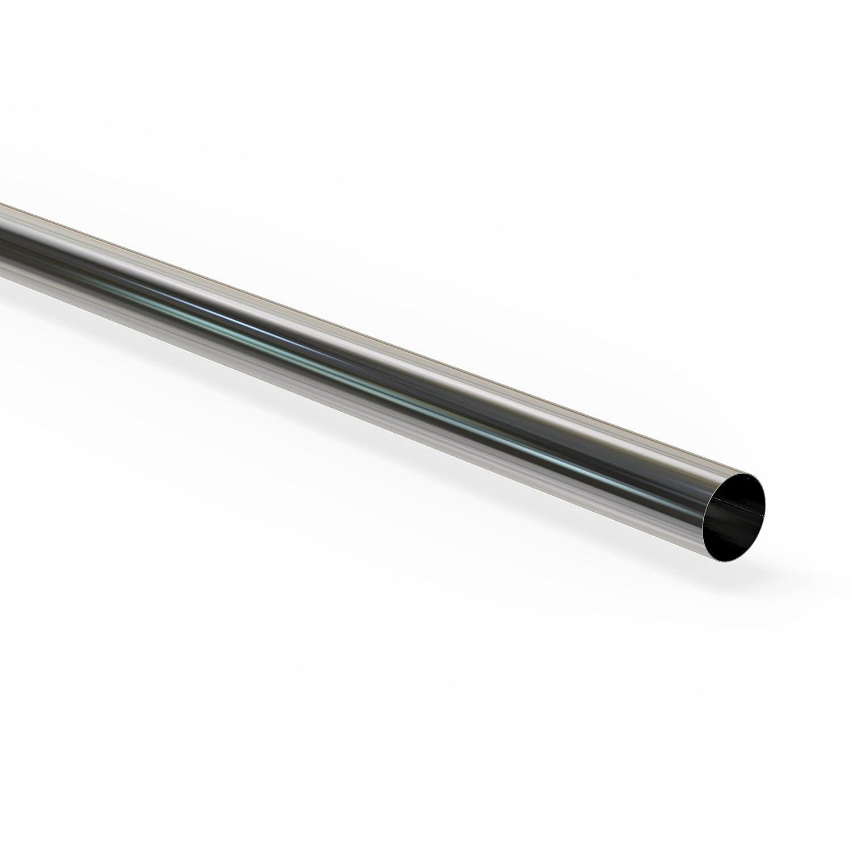 Edelstahl Auspuffbogen 45° mit 60mm Durchmesser Auspuff Rohr-Bogen Abgas-Anlage