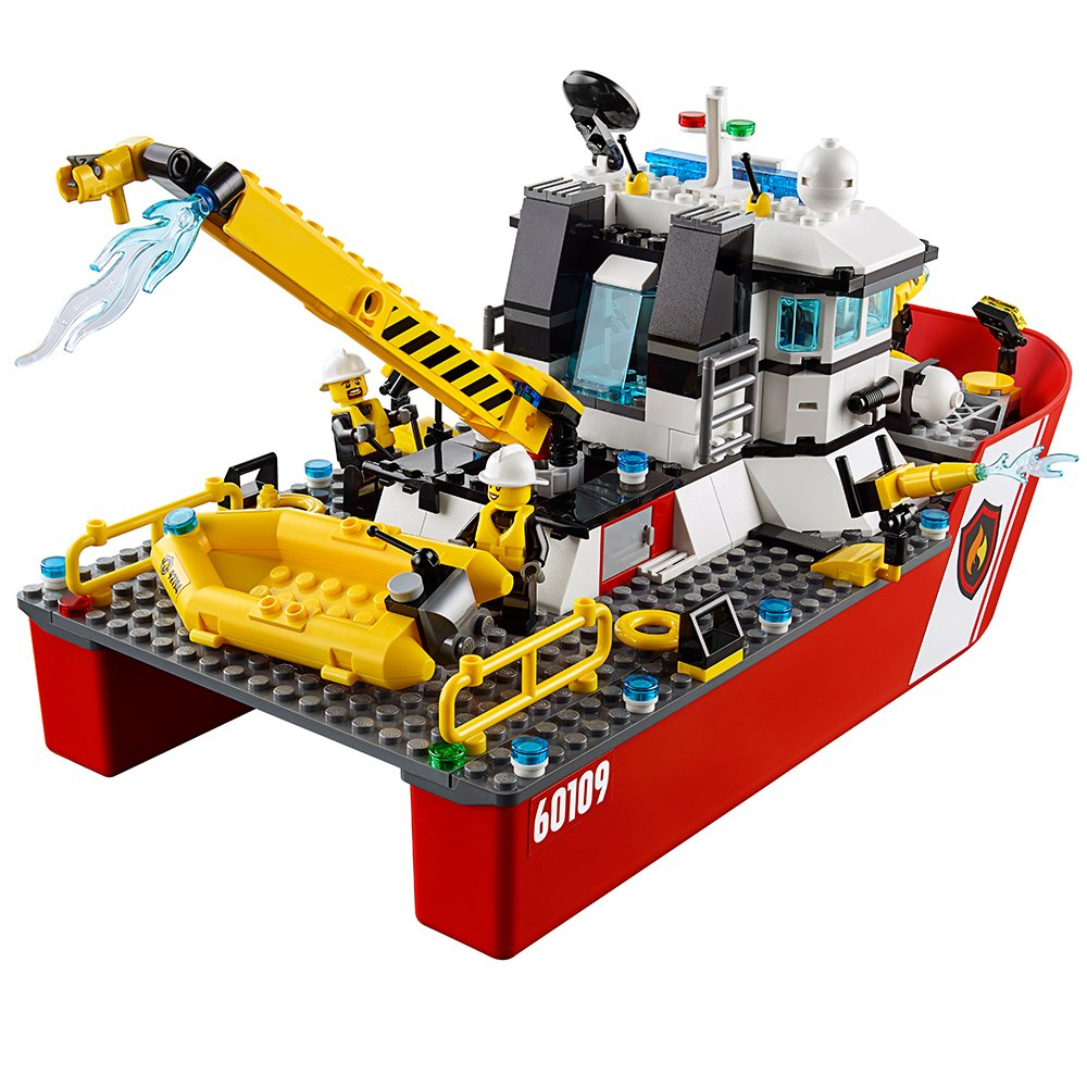 Amazon Lego City Fire Boat 60109 Toys Games
