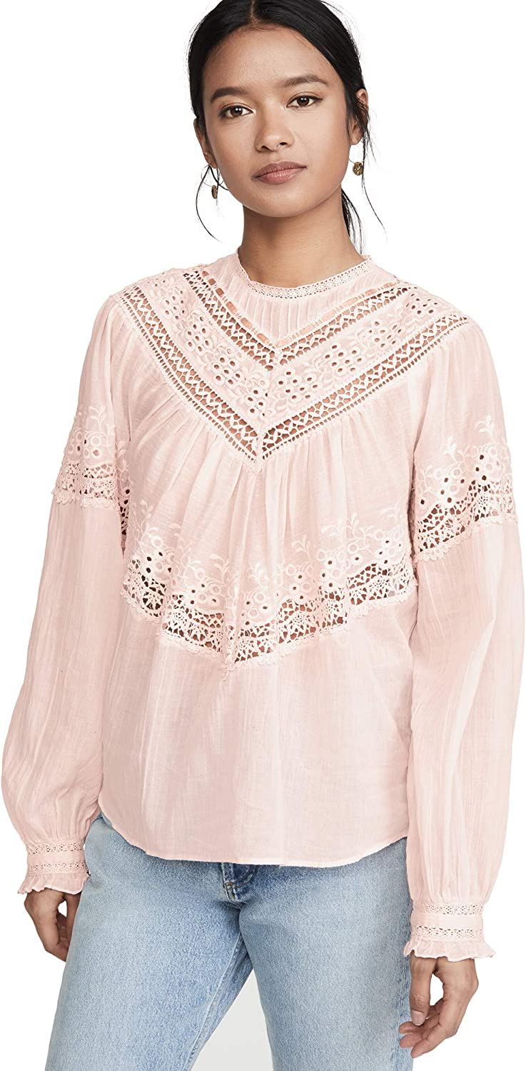 Max 61% OFF Free unisex People Women's Abigail Victorian Top