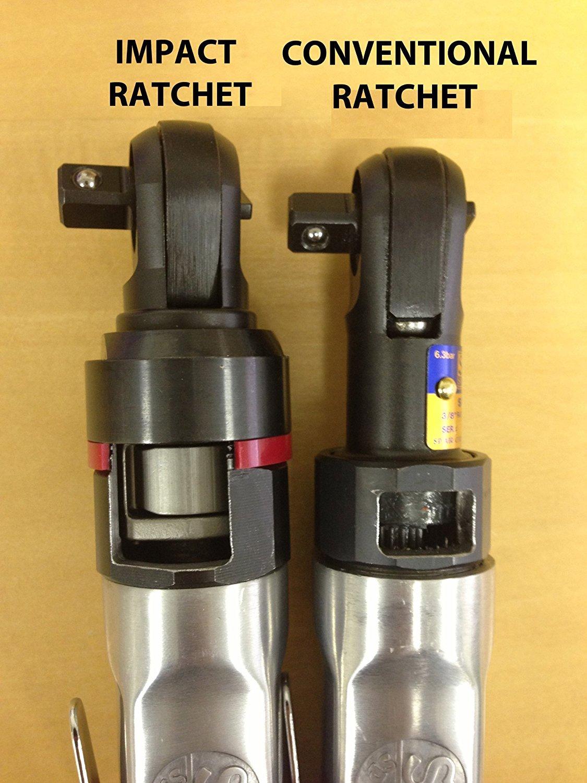 SP Air Corporation SP-1764HD 1//4-Inch Super-Fast Mini Impact Ratchet 1//4