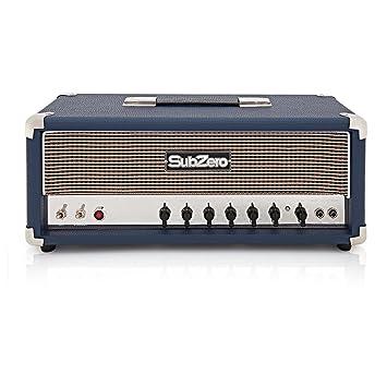 Cabezal Amplificador de Guitarra Tube-H50R 50W de Válvulas Subzero