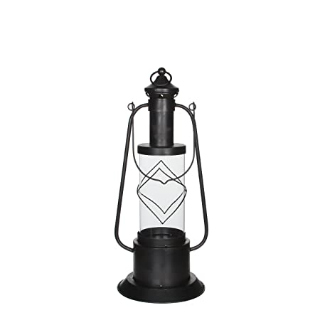 Mica Decorations 133310 D Stainless Steel Lantern 25 5 X 23 5 X 70