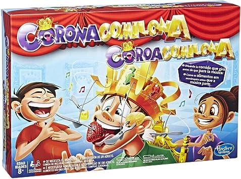 Hasbro Gaming - Juego infantil Corona Comilona(Hasbro E2420175): Amazon.es: Juguetes y juegos