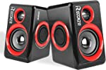 Computer Speakers, 2.0 CH PC Speakers with Surround Sound, USB Wired