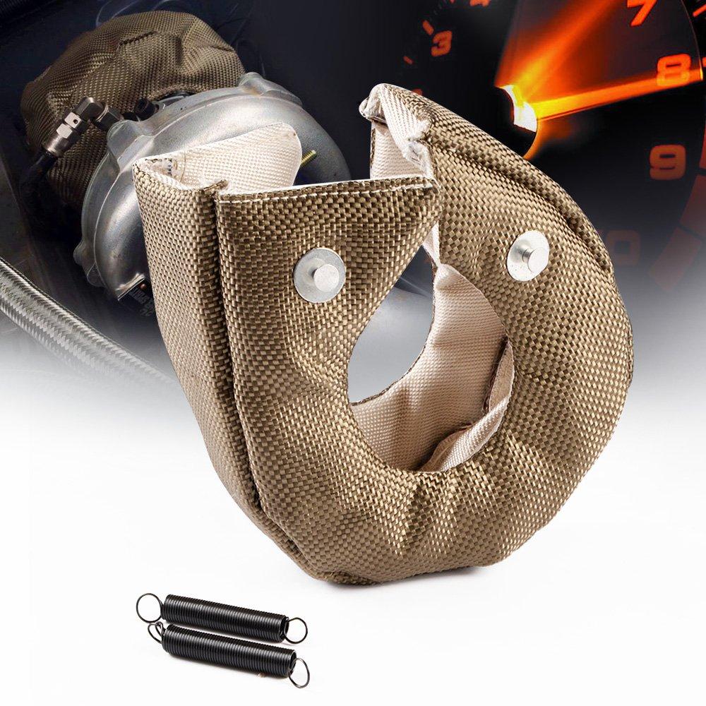 Turbo Blanket Heat Shield Turbocharger Cover For T3 T25 T28 GT25 GT28 GT30 GT32 GT35 GT37 CT26 Gplusmotor