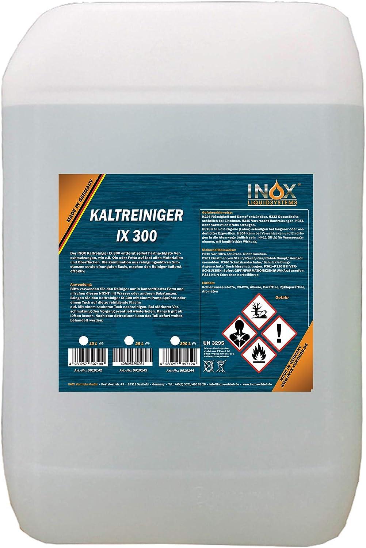 Inox Ix 300 Motor Kaltreiniger 25l Motorreiniger Konzentrat Motorenreiniger Gegen Öle Teer Und Fette Auto