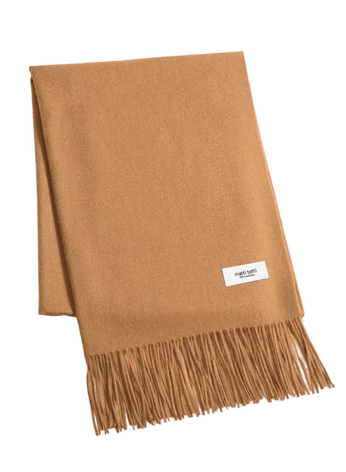 Camel 100% Cashmere Shawl Stole Women Gift Scarves Wrap Blanket A1614B1-16
