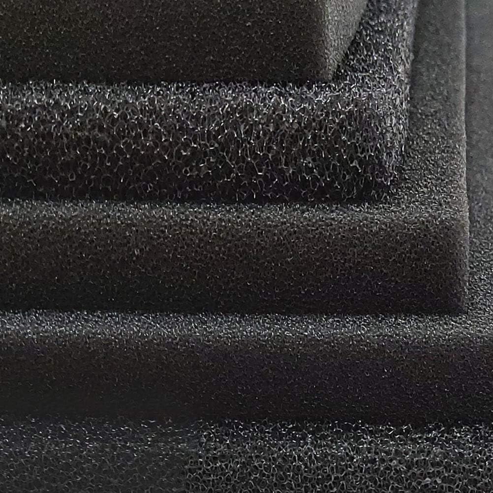 Beizhou Company Spugna filtrante biochimica a Carbone Attivo per Acquario   Disponibili in più Misure (Dimensioni: 50 * 12 * 2 cm/Apertura: 0,5-1 mm)