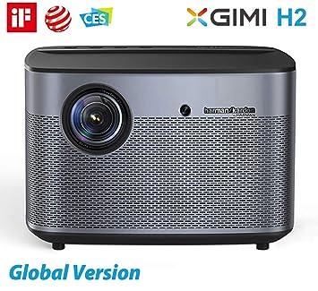 4K Proyector, XGIMI H2 Mejorado Proyector Casero 1080p HD Nativo ...