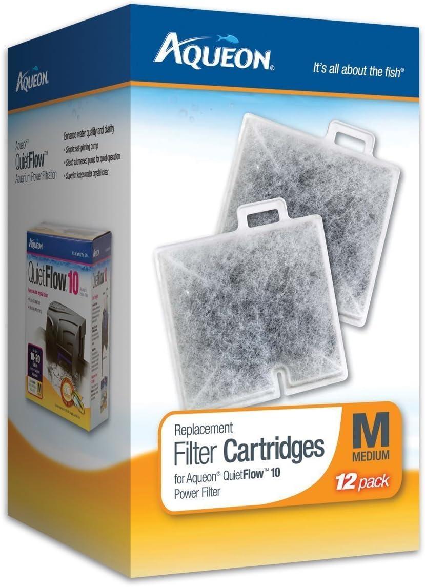 Aqueon Filter Cartridge Medium Size 24-pack