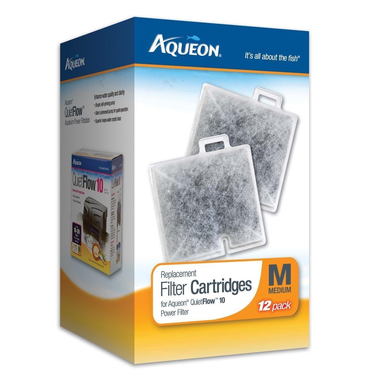 Medium Aqueon Filter Cartridge Medium Size 24-pack
