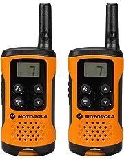 Motorola 59T41ORANGEPACK - Walkie Talkie, Color Naranja