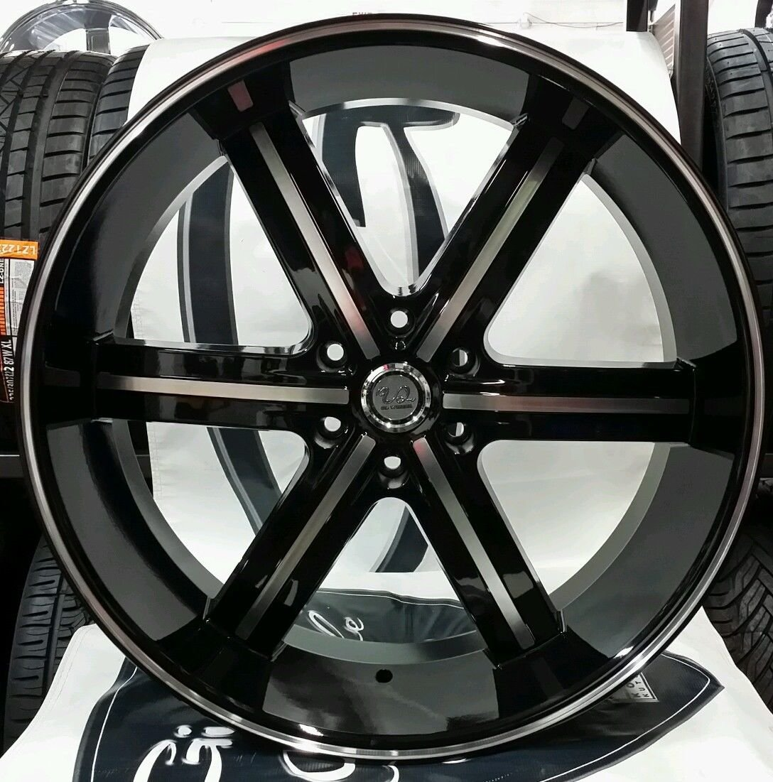 cadillac rims f black style r index gloss with w wheels tires