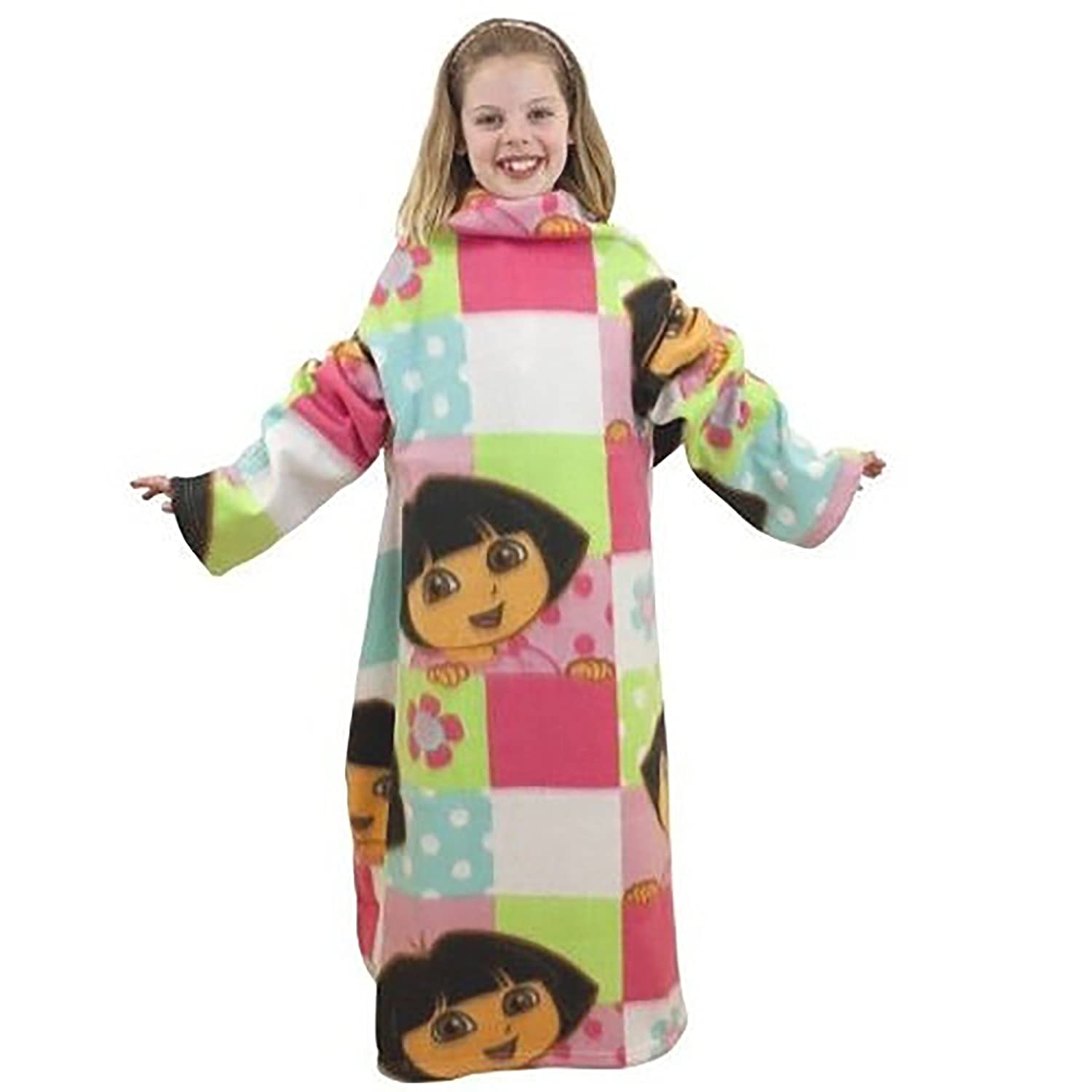 Dora The Explorer Sleeved Fleece Blanket
