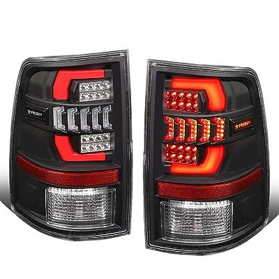 RBP TL560-NLD Sequential Turn Signal 3D LED DRL Tail Brake Lights for Dodge Ram 1500 2500 3500 09-18: Automotive