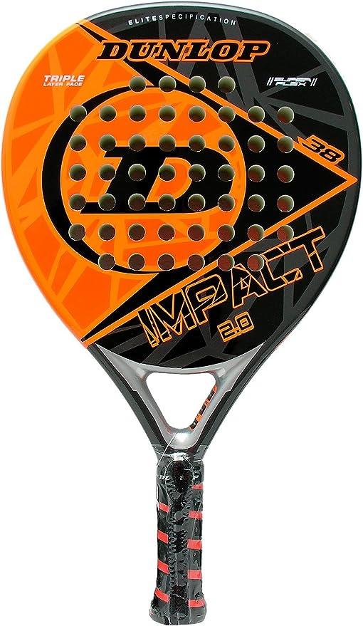 Pala de padel - Dunlop Impact 2.0 Orange 2016: Amazon.es: Deportes ...