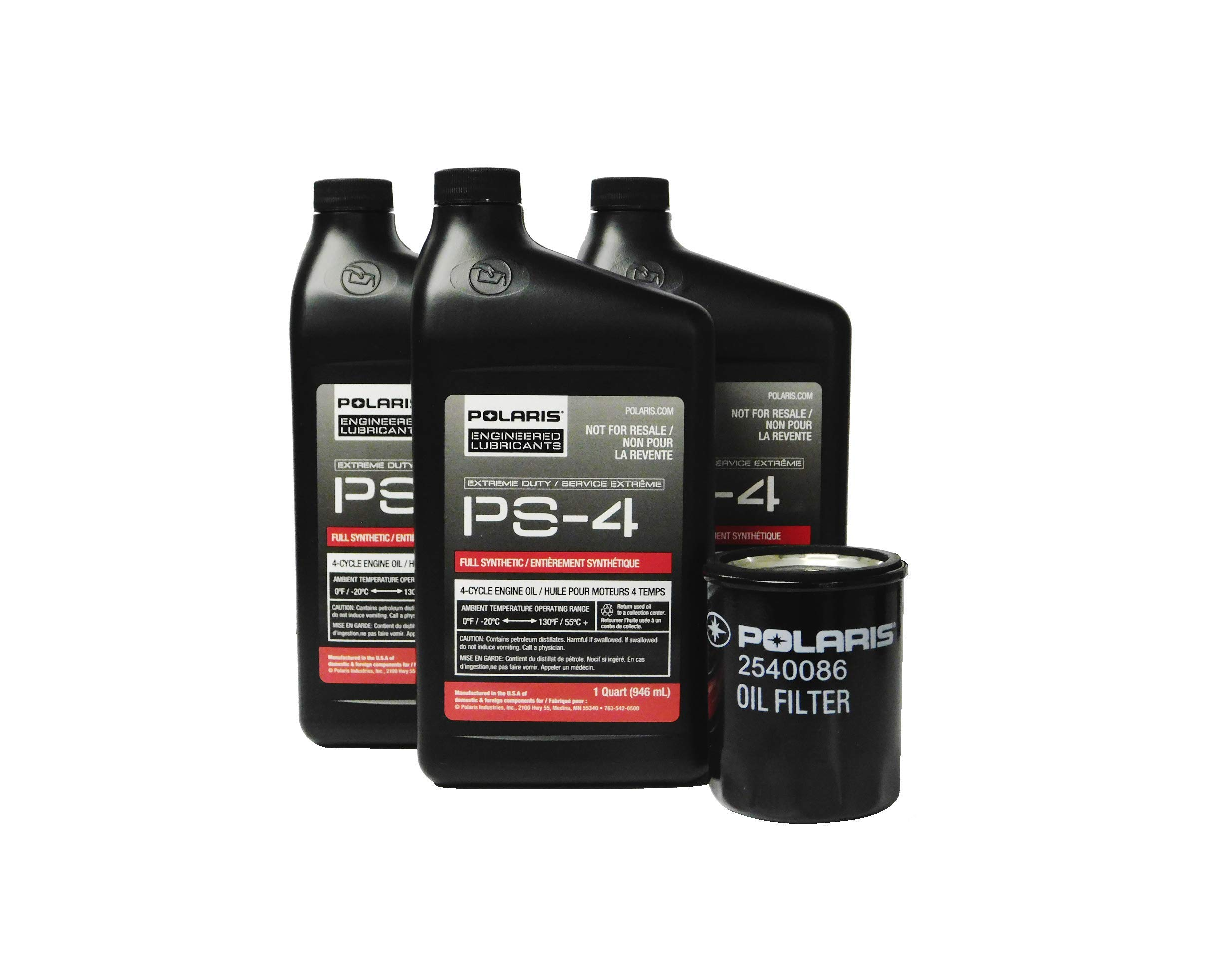 Polaris RZR XP Turbo XP 4 EPS OEM Extreme Duty Oil Change Kit 2881697 by Powersports Authority