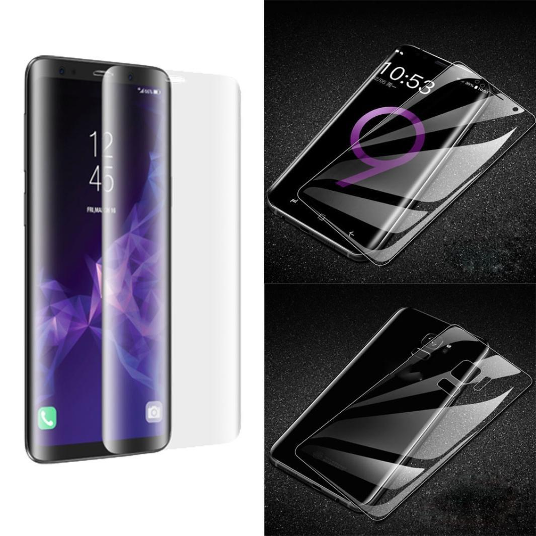 Lot de 2 pour Samsung Galaxy S9 3d Pet Curved complè te avant + arriè re film protecteur d'é cran [Coque Friendly] [non Verre], Xshuai HD Effacer film [Couverture complè te] [sans bulles] [Scratches-proof] pour anima