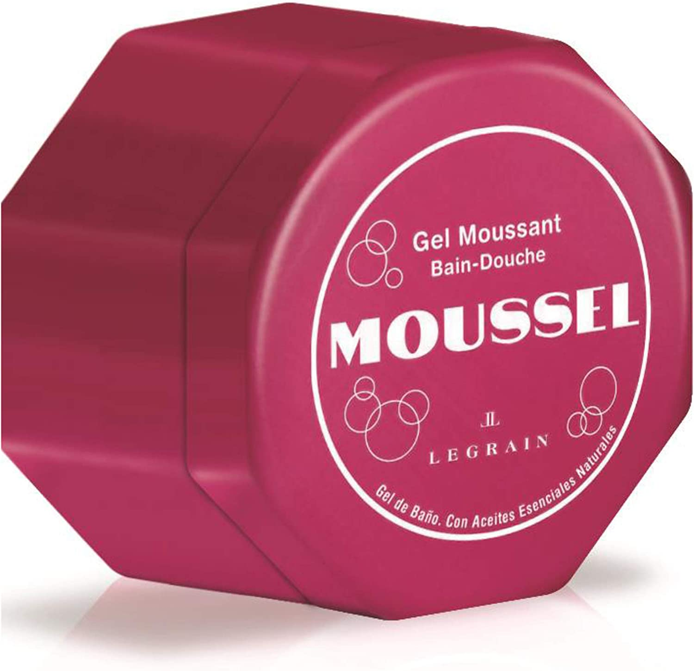 MOUSSEL pack 2 geles de baño clásico 600 ml + mini gel 60 ml ...