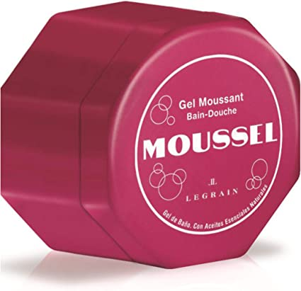 MOUSSEL pack 2 geles de baño clásico 600 ml + mini gel 60 ml: Amazon.es: Belleza