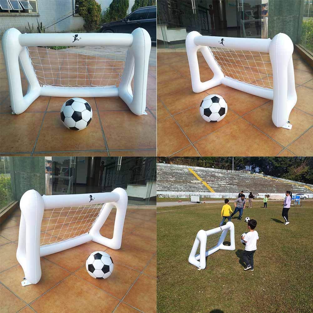 XINdream portería de fútbol Inflable, Mini portátil Plegable ...