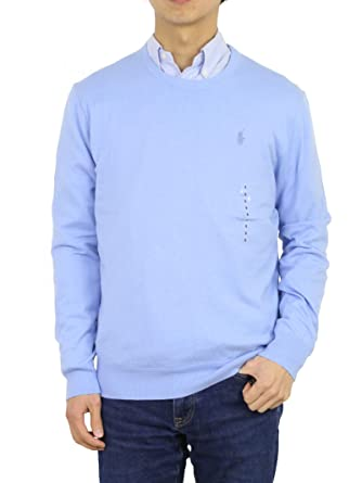 c4dad25a4 Polo Ralph Lauren Men s Crew Neck Cashmere Blend Pullover Sweater at Amazon  Men s Clothing store