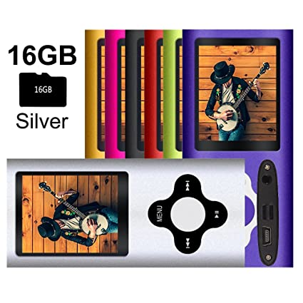 Amazon.com: G.G.Martinsen MP3/MP4 Player with a 16GB Micro ...
