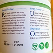 Garden of life organic extra virgin coconut oil unrefined cold pressed coconut oil for Garden of life customer service