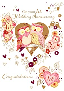 Amazon talking pictures to my wonderful husband happy talking pictures on your 1st wedding anniversary greeting card by handmade cards m4hsunfo
