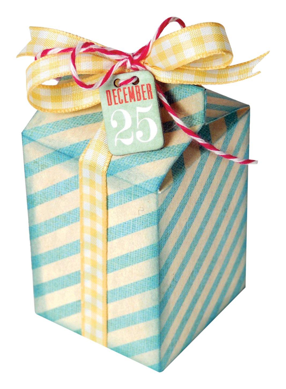Sizzix Box Milk Carton von E.L. Smith Stahl Thinlits Stanzen 658823