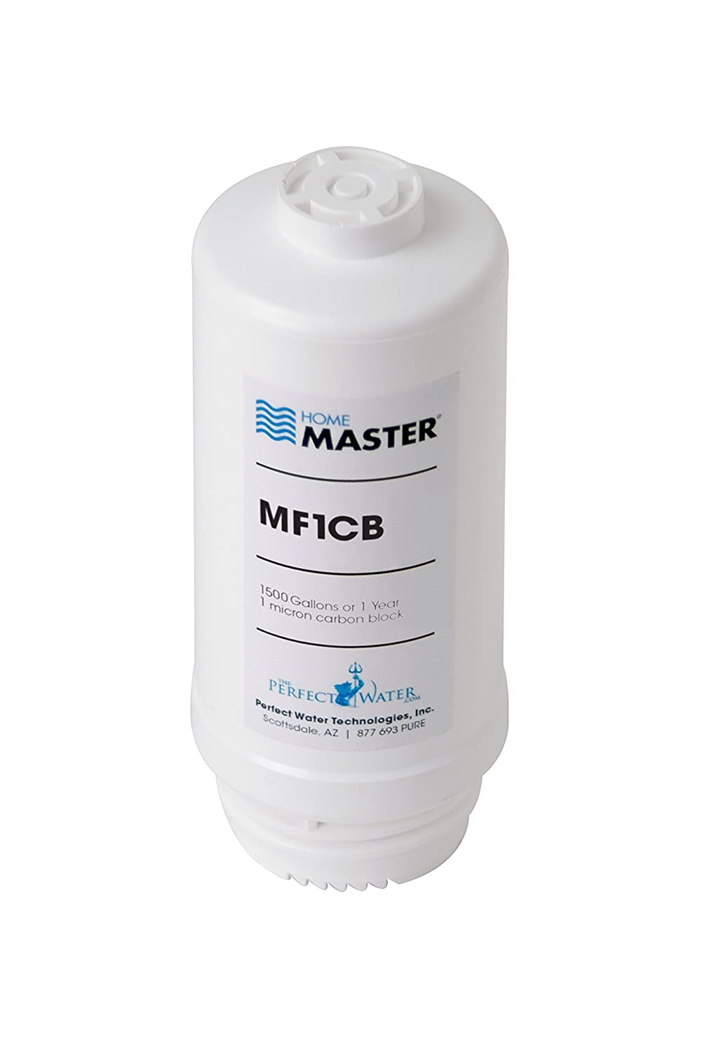 Home Master MF1CB Mini Replacement Filter, White
