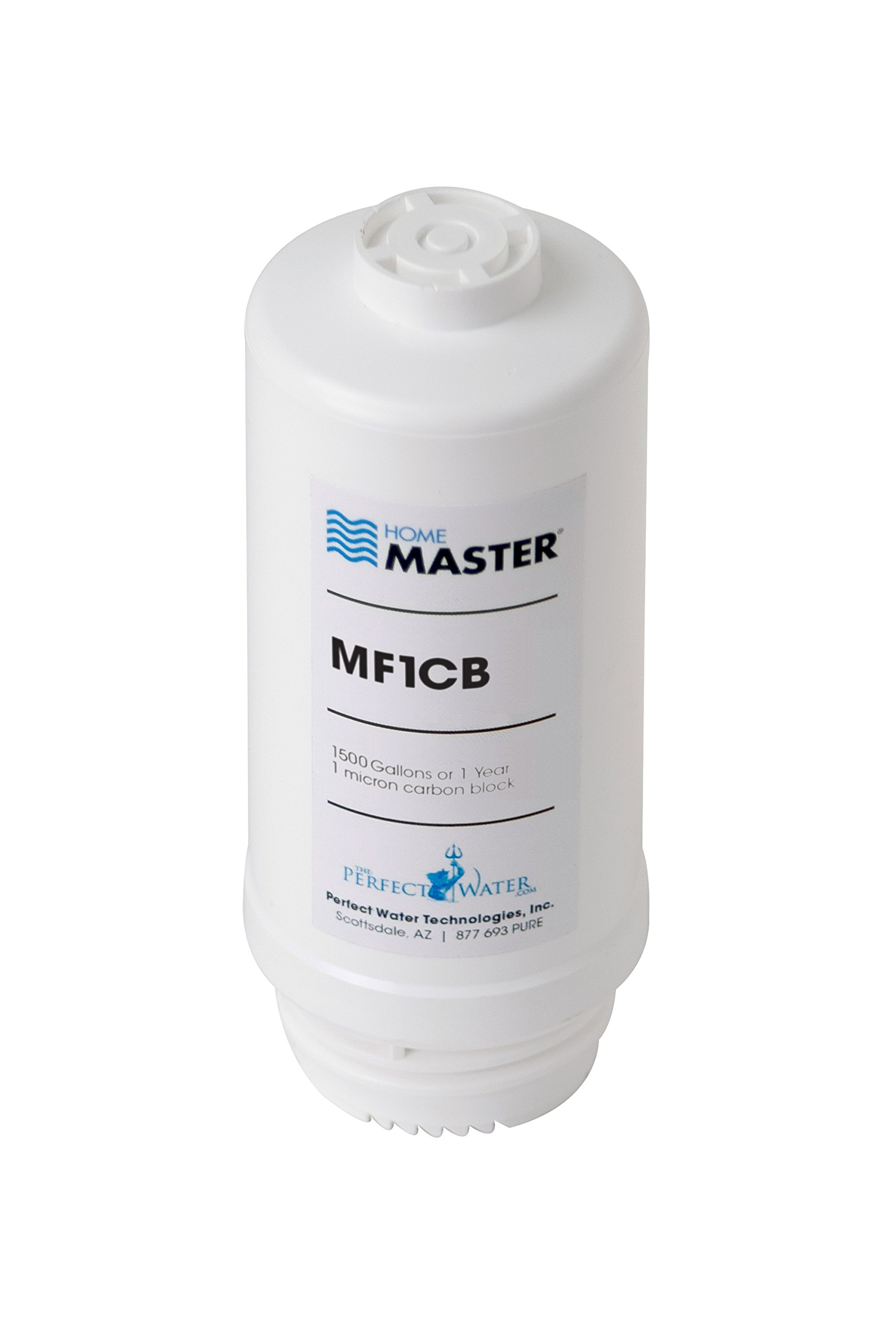 Home Master MF1CB Mini Replacement Filter, White