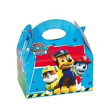 PAW PATROL 0655, Pack 4 cajitas de Carton para chuches ...
