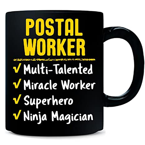 Amazon.com: Postal Worker Miracle Worker Superhero Ninja ...