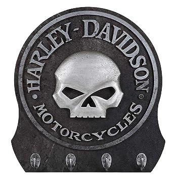 Amazon.com: Harley-Davidson perchero con diseño de ...