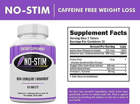 diet pill with no caffeine