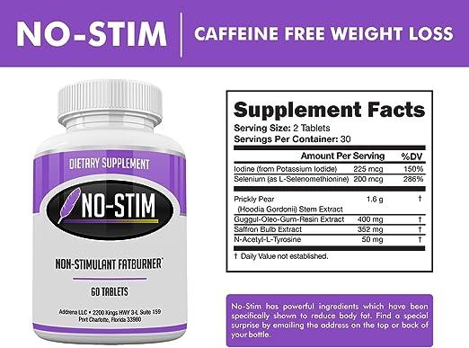 best diet pills caffeine free