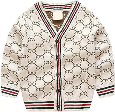 Suéter Cardigan de algodón Mercerizado para niños, suéteres de ...