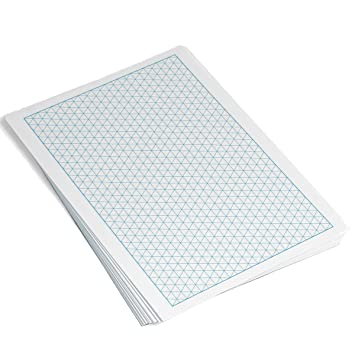 Rhino Isometric Paper A  Leaf Mm Isometric Grid AmazonCo