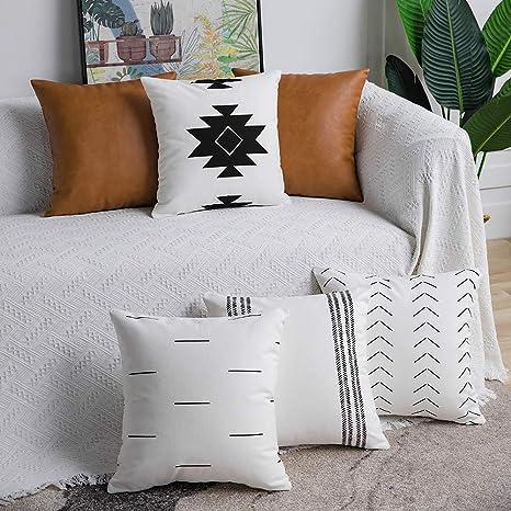 dezene decorative throw pillow covers