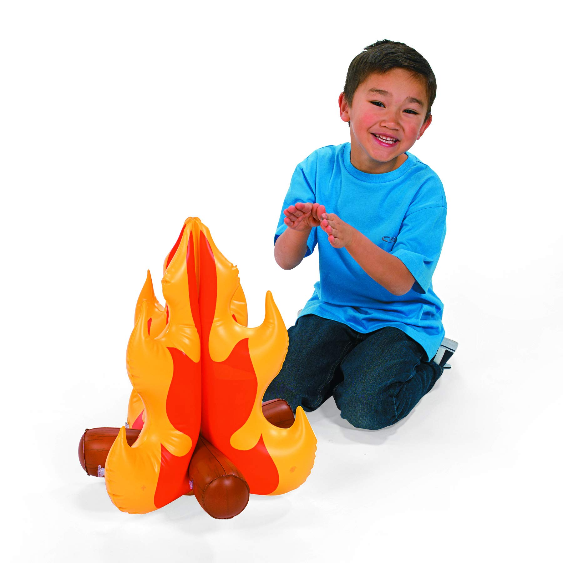 Fun Express Inflatable Campfire 18''x16'' (Pack of 2) by Fun Express (Image #1)