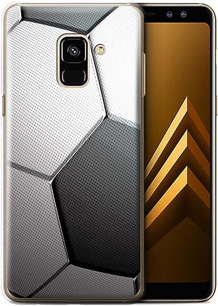 Stuff4 téléphone Coque/Housse pour Samsung Galaxy A8 2018/football ...
