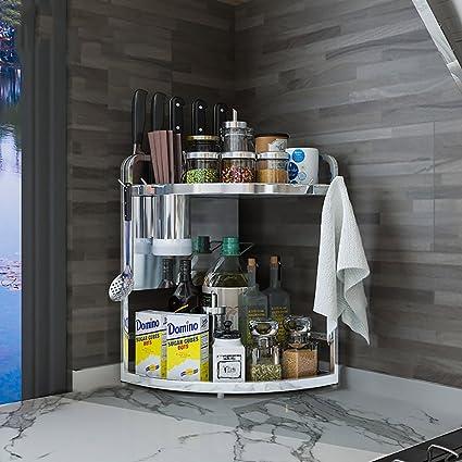 Amazon.com - kitchen shelf kitchen Corner Shelf Shelves ...
